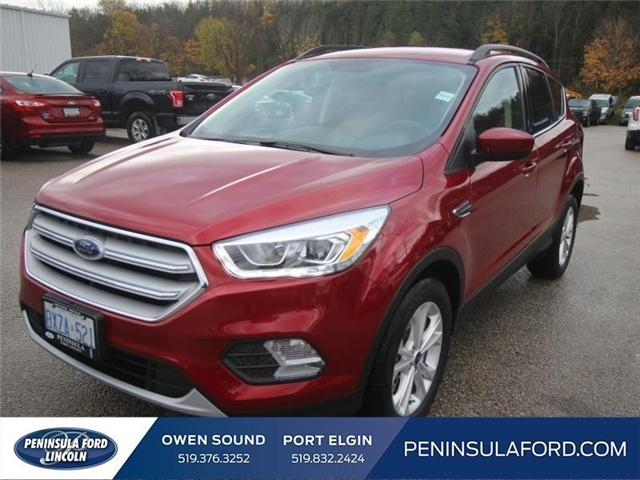 2018 Ford Escape SEL (Stk: 18ES13) in Owen Sound - Image 1 of 14