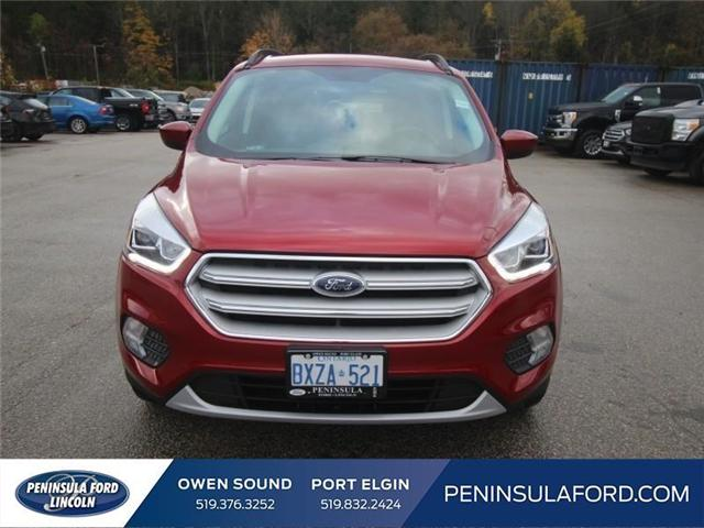 2018 Ford Escape SEL (Stk: 18ES13) in Owen Sound - Image 2 of 14