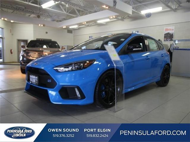 2018 Ford Focus RS Base (Stk: 18FO01) in Owen Sound - Image 1 of 22