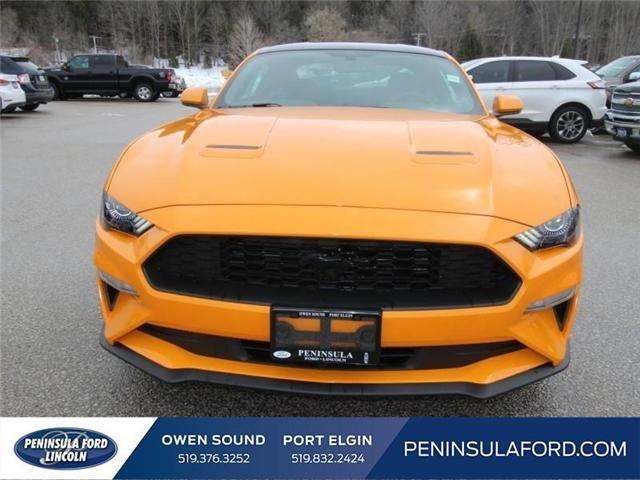 2018 Ford Mustang EcoBoost (Stk: 18MU06) in Owen Sound - Image 2 of 15