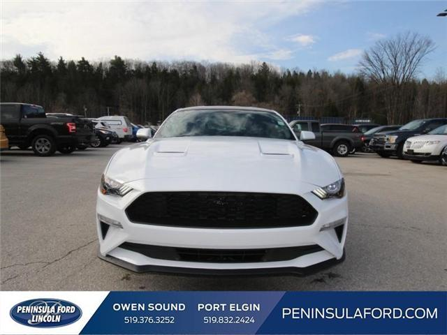 2018 Ford Mustang EcoBoost (Stk: 18MU11) in Owen Sound - Image 2 of 14