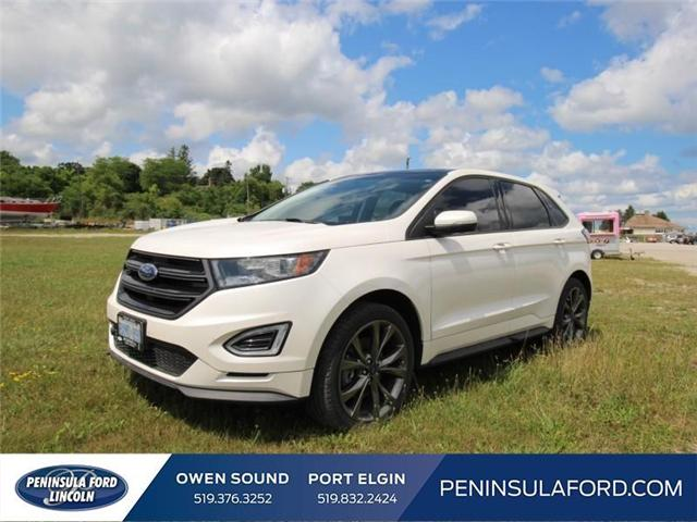 2016 Ford Edge Sport (Stk: 1523) in Owen Sound - Image 1 of 14