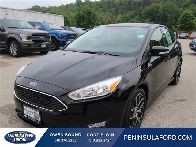 2018 Ford Focus SE (Stk: 18FO19) in Owen Sound - Image 1 of 15