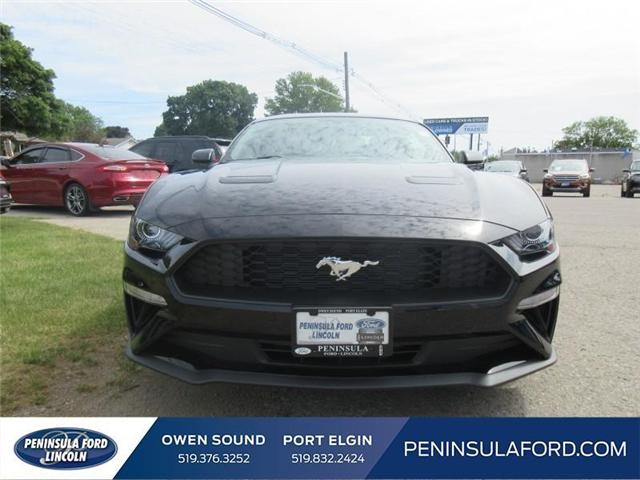 2018 Ford Mustang EcoBoost (Stk: 18MU15) in Owen Sound - Image 2 of 16
