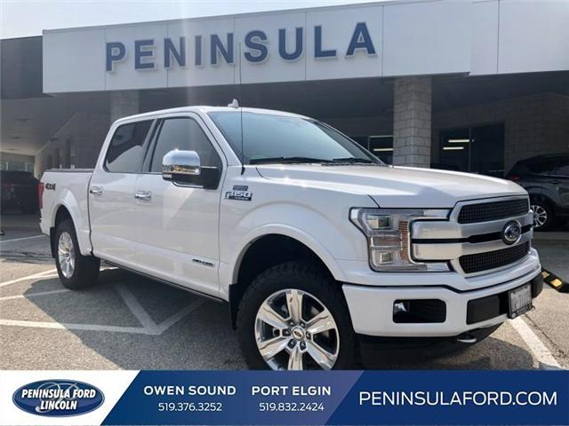 2018 Ford F-150 Platinum (Stk: 18FE370) in Owen Sound - Image 1 of 19