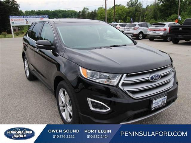 2018 Ford Edge Titanium (Stk: 18ED41) in Owen Sound - Image 3 of 15