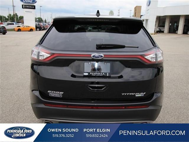2018 Ford Edge Titanium (Stk: 18ED41) in Owen Sound - Image 6 of 15