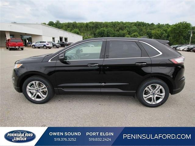 2018 Ford Edge Titanium (Stk: 18ED41) in Owen Sound - Image 8 of 15