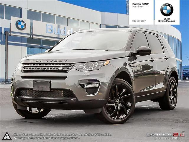 2016 Land Rover Discovery Sport HSE LUXURY (Stk: B30596AA) in Hamilton - Image 1 of 27