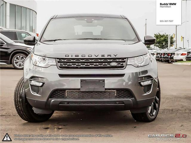 2016 Land Rover Discovery Sport HSE LUXURY (Stk: B30596AA) in Hamilton - Image 2 of 27