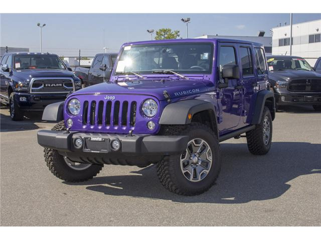 2017 Jeep Wrangler Unlimited Rubicon (Stk: HL693311N) in Surrey - Image 3 of 28