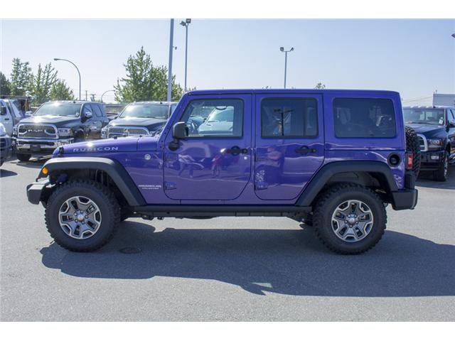 2017 Jeep Wrangler Unlimited Rubicon (Stk: HL693311N) in Surrey - Image 4 of 28