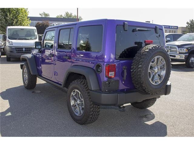 2017 Jeep Wrangler Unlimited Rubicon (Stk: HL693311N) in Surrey - Image 5 of 28