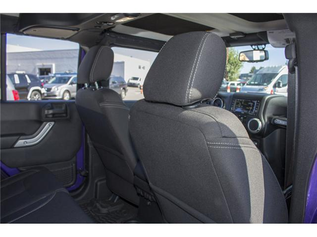 2017 Jeep Wrangler Unlimited Rubicon (Stk: HL693311N) in Surrey - Image 15 of 28