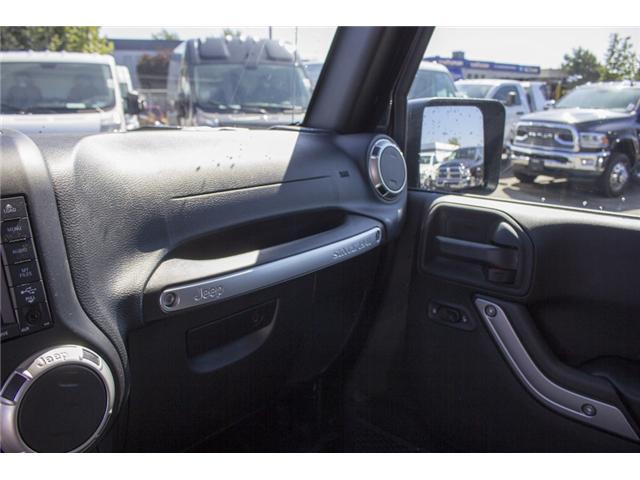 2017 Jeep Wrangler Unlimited Sahara (Stk: HL728965N) in Surrey - Image 24 of 29
