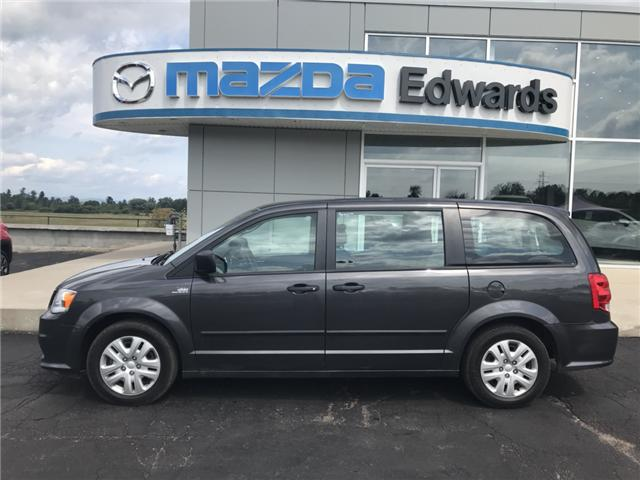 2017 Dodge Grand Caravan CVP/SXT (Stk: 21353) in Pembroke - Image 1 of 11