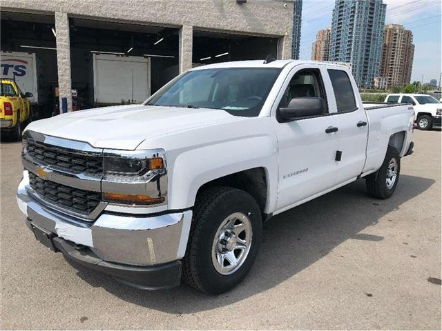2018 Chevrolet Silverado New 2018 Chevrolet 4x4 Double Cab LS (Stk: PU85342) in Toronto - Image 1 of 15
