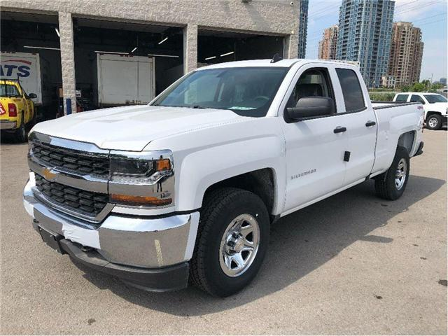 2018 Chevrolet Silverado New 2018 Chevrolet 4x4 Double Cab LS (Stk: PU85342) in Toronto - Image 2 of 15