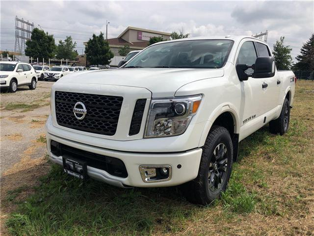 2018 Nissan Titan PRO-4X (Stk: TK10-18) in Etobicoke - Image 1 of 5