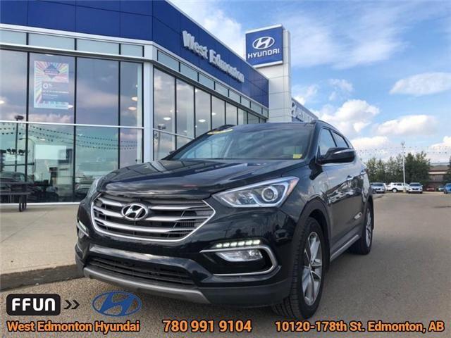 2018 Hyundai Santa Fe Sport  (Stk: E4067) in Edmonton - Image 1 of 23