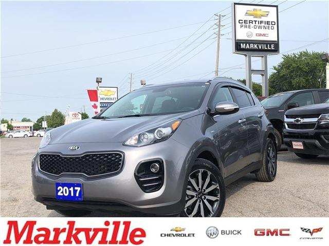 2017 Kia Sportage EX-AWD-LEATHER-CERTIFIED PRE-OWNED-1 OWNER (Stk: 264540A) in Markham - Image 1 of 22