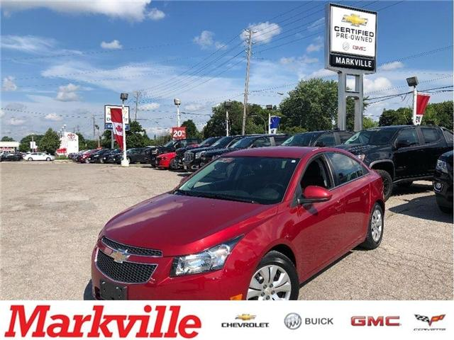 2014 Chevrolet Cruze LT-GM CERTIFIED PRE-OWNED- 1 OWNER TRADE (Stk: 188519A) in Markham - Image 1 of 16