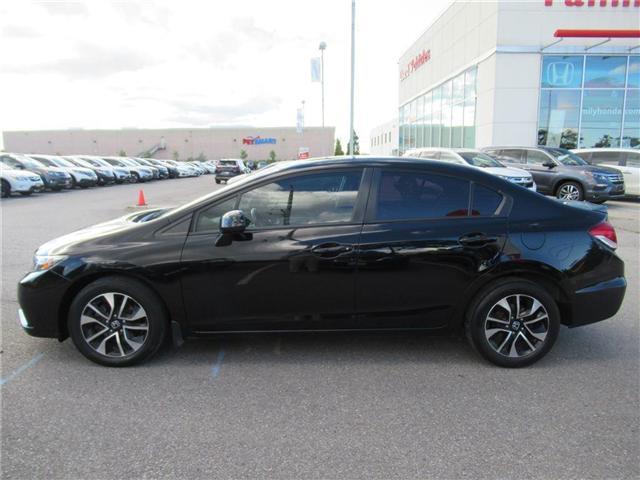 2013 Honda Civic EX, BACK UP CAM, BLUETOOTH! (Stk: 8131480B) in Brampton - Image 2 of 26