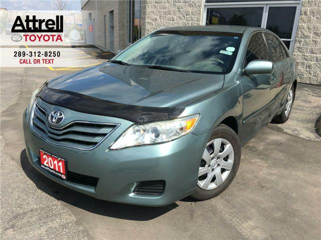 2011 Toyota Camry BLACK FRIDAY SPECIAL LE HOOD DEFLECTOR, ABS, STEER (Stk: 39489A) in Brampton - Image 1 of 22