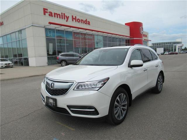 2016 Acura MDX Navigation Package, LOTS OF EXTRAS! (Stk: 8138243A) in Brampton - Image 1 of 30