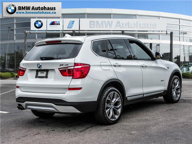 2015 BMW X3 xDrive28i (Stk: P8476) in Thornhill - Image 5 of 19