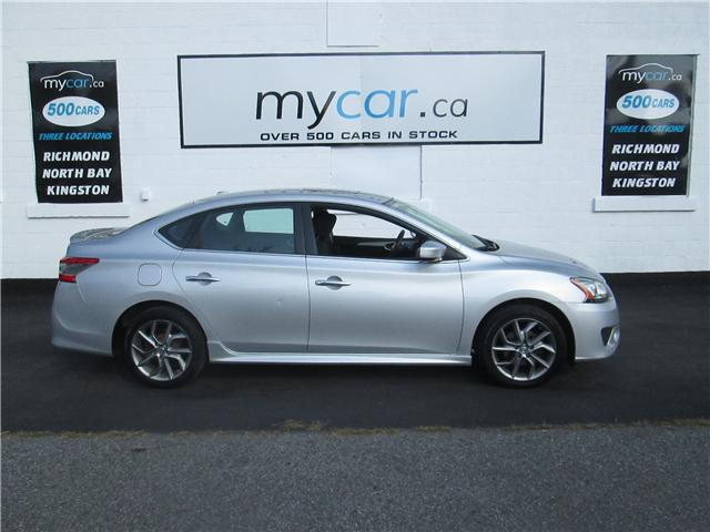 2014 Nissan Sentra 1.8 SR (Stk: 181191) in North Bay - Image 1 of 14