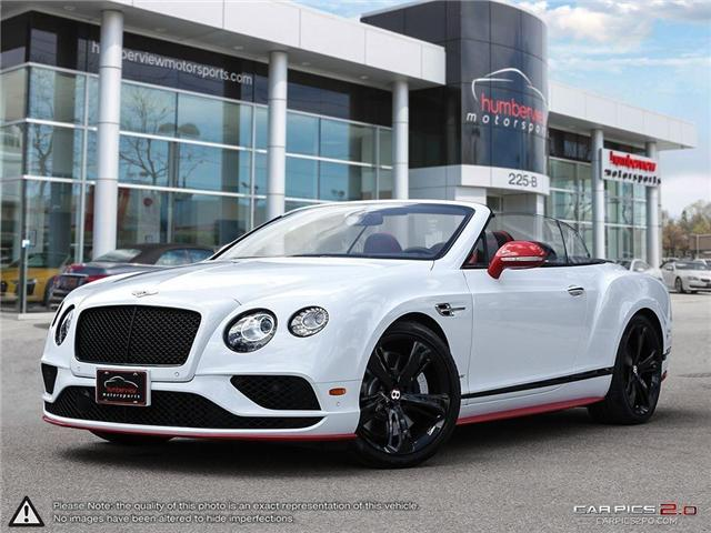 2017 Bentley Continental GTC S | AWD | ONE OWNER | CAR-PROOF CLEAN | VERY LOW M (Stk: 18MSX502) in Mississauga - Image 1 of 27