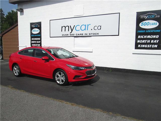 2017 Chevrolet Cruze Premier Auto (Stk: 181223) in Richmond - Image 2 of 13