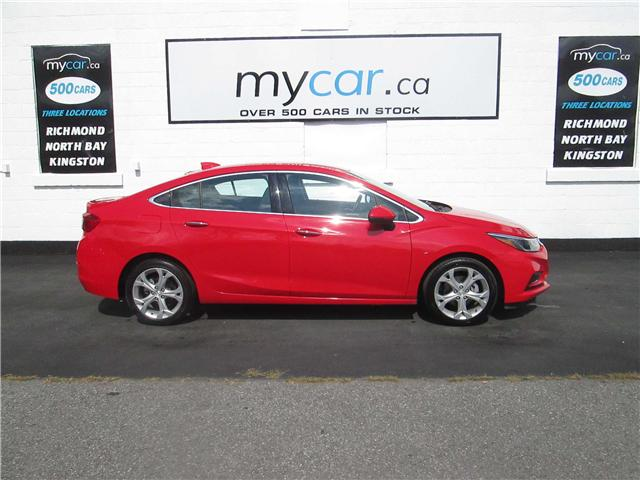 2017 Chevrolet Cruze Premier Auto (Stk: 181223) in North Bay - Image 1 of 13