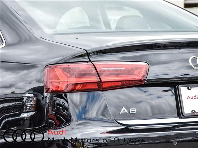 2018 Audi A6 2.0T Progressiv (Stk: 90300) in Nepean - Image 6 of 28