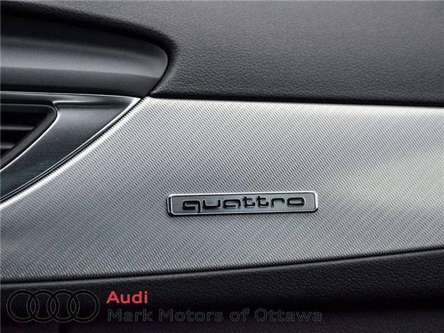 2018 Audi A6 2.0T Progressiv (Stk: 90300) in Nepean - Image 9 of 28