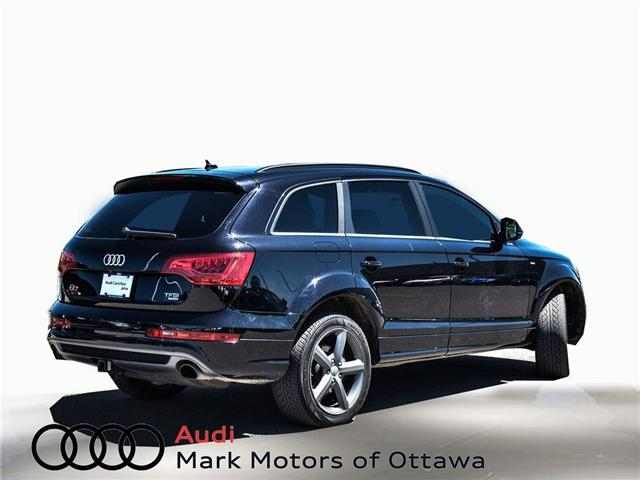 2014 Audi Q7 3.0T Progressiv (Stk: PM300) in Nepean - Image 4 of 27