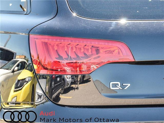 2014 Audi Q7 3.0T Progressiv (Stk: PM300) in Nepean - Image 6 of 27