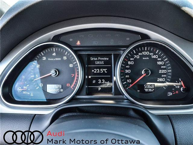 2014 Audi Q7 3.0T Progressiv (Stk: PM300) in Nepean - Image 14 of 27