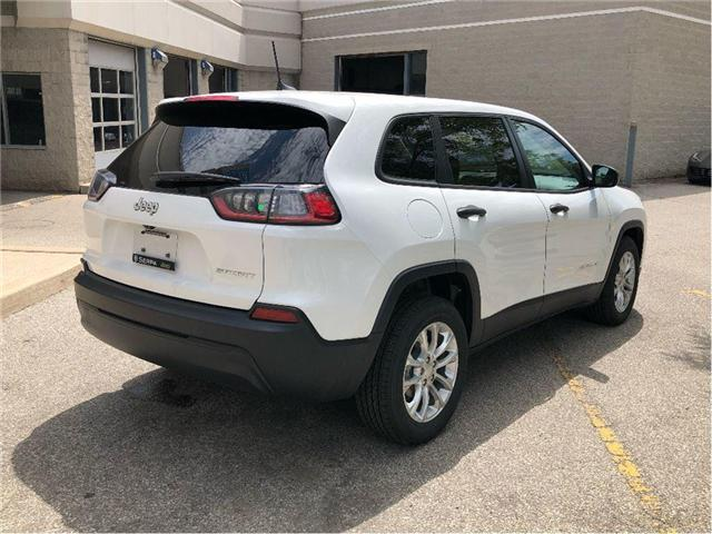 2019 Jeep Cherokee Sport (Stk: 194018) in Toronto - Image 5 of 20