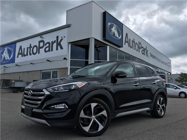 2017 Hyundai Tucson Limited (Stk: 17-67834RJB) in Barrie - Image 1 of 26
