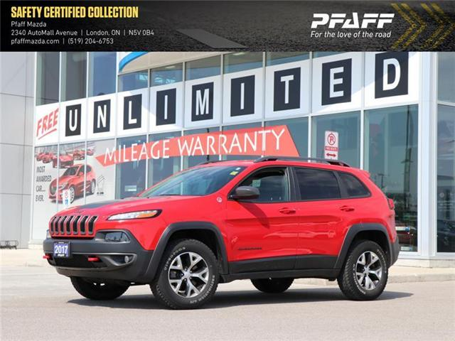 2017 Jeep Cherokee Trailhawk (Stk: LM8424A) in London - Image 1 of 20