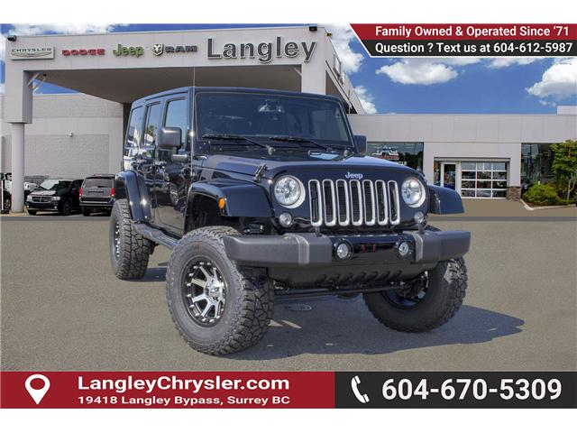 2017 Jeep Wrangler Unlimited Sahara (Stk: H728965) in Surrey - Image 1 of 26