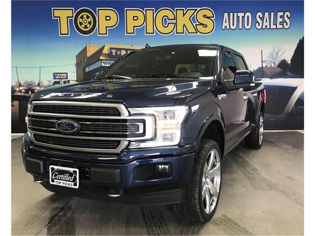 2018 Ford F-150 Platinum (Stk: 46953) in NORTH BAY - Image 1 of 20