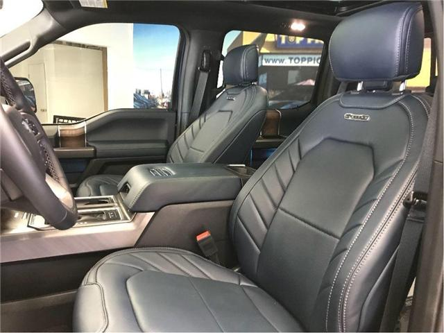 2018 Ford F-150 Platinum (Stk: 46953) in NORTH BAY - Image 14 of 20
