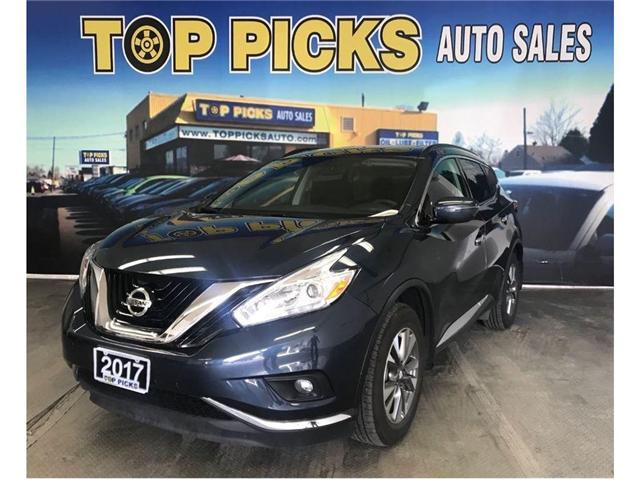 2017 Nissan Murano SV (Stk: 175434) in NORTH BAY - Image 1 of 19