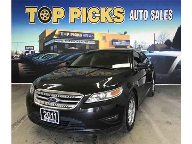2011 Ford Taurus SEL (Stk: 111689) in NORTH BAY - Image 1 of 16