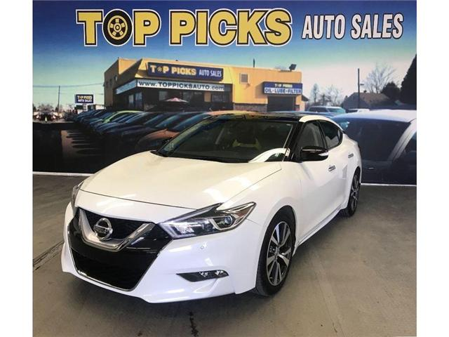 2017 Nissan Maxima SV (Stk: 365068) in NORTH BAY - Image 1 of 18