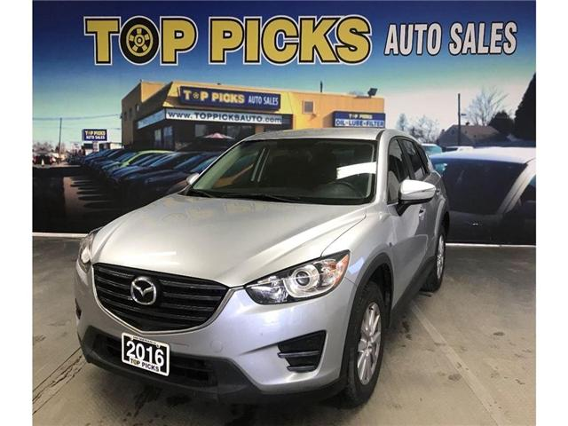 2016 Mazda CX-5 GX (Stk: 0801789) in NORTH BAY - Image 1 of 15