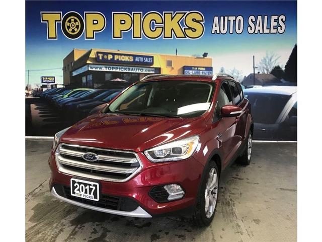 2017 Ford Escape Titanium (Stk: 33227) in NORTH BAY - Image 1 of 17